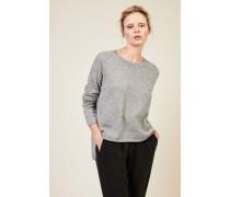 Oversize Cashmere-Pullover 'Coline' Grau - Cashmere