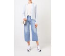 Doubleface Cashmere-Blazer 'Pacita' Hellblau 75% Cashmere - 25% Seide Innenseite: -