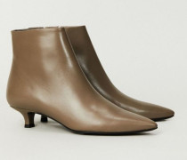 Stiefelette 'Coco Boot' Taupe - Leder