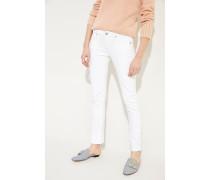 Skinny-Jeans 'Racer' Weiß