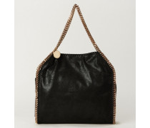 Shopper 'Falabella 2 Chain' Schwarz/Gold