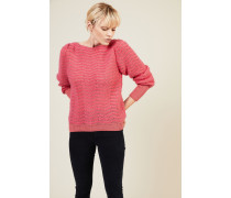Mohair-Woll-Pullover 'Celia' Pink