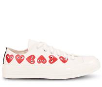 """Sneaker """"Chuck Taylor Multi Heart 1970s OX' Weiß/Rot"""