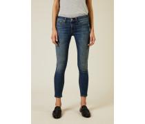 Skinny Jeans 'Rae Capri' Blau