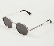 Sonnenbrille 'Unpredictable' Bright Gold/Smok