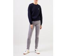 Sweatshirt 'Fox Head Patch' Marineblau