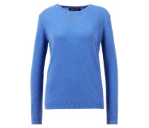 Cashmere-Pullover 'Antonella' mit R-Neck Blau