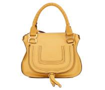 Leder-Handtasche 'Marcie Top Handle Small' Honey Gold