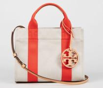 Handtasche 'Miller Canvas Mini' Beige/Orange