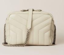 Crossbody Tasche 'Loulou' Beige - Leder