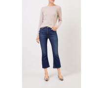 Jeans 'Demi Cropped Flare' Blau