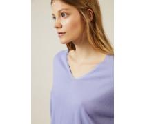 Leichter Cashmere-Pullover 'Lisa' Flieder - Cashmere