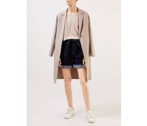 Cashmere-Pullover Boxy Style Beige