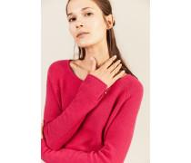 Cashmere-Pullover 'Cyra' Fuchsia