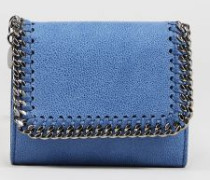 Kleines Portemonnaie 'Small Flap Wallet' Denim