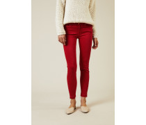Jeans 'The Skinny Crop' Rot