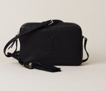 Crossbody Tasche 'Loulou Satchel' Marineblau - Leder