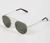 Sonnenbrille 'Revolution' Gold/Khaki