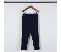 Stretch-Hose Marineblau