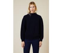Cashmere Pullover Marineblau - Cashmere