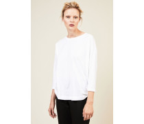 Oversize T-Shirt 'Hervol' Weiß - 100% Baumwolle