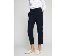 Hose mit Bindedetail Navy