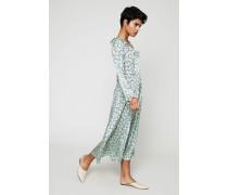 Kleid mit Print Green/Multi