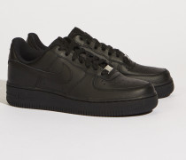 newest bfdda 5339e Sneaker  Air Force 1  Schwarz. Nike