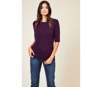 Cashmere-Pullover 'Carolin' Violett - Cashmere