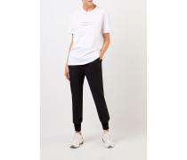 T-Shirt mit Aufdruck Weiß