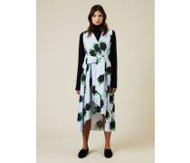 Baumwoll-Kleid 'Pine' mit Pailletten Multi - 100% Baumwolle