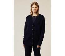 Cashmere Cardigan 'Cyprus' Marineblau - Cashmere