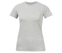 Baumwoll T-Shirt mit Rundhalsausschnitt