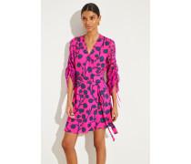 Wickelkleid 'Tamra' floralem Print Pink/Multi