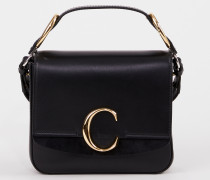 Handtasche ' C Square Small' Black