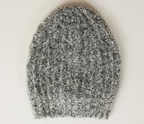 Woll-Mütze Grau - Alpaca