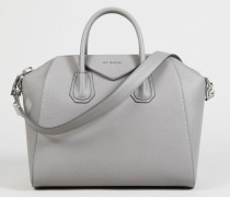 Tasche 'Antigona Medium' Pearl Grey - Leder