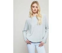 Oversized Cashemere-Pullover mit Schlitzen Frosty - Cashmere
