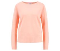 Klassischer Cashmere-Pullover Aprikot