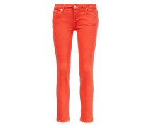 Jeans 'Pyper Cropped' Rot