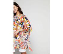 Tunika-Kleid mit Print Multi