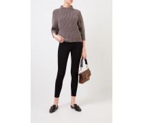 Skinny-Jeans 'Le High Skinny' Schwarz