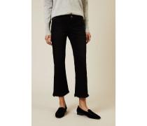 Jeans 'Loreena Easy Kick' mit ausgefransten Saum