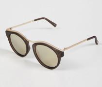 Sonnenbrille 'Hypnotize' Matte Pebble/Gold