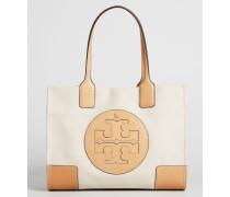 Handtasche ''Ella Canvas' Natural/Ivory
