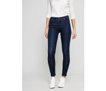 High Rise Skinny Jeans 'Rocket' Marineblau