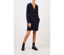 Kleid 'Cady' mit Bindedetail Marineblau