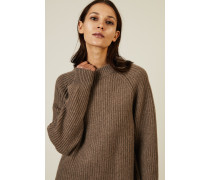 Cashmere-Strickpullover 'Connor Top' Taupe