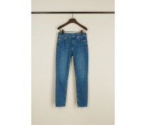 High Rise Jeans 'Bridge' Hellblau