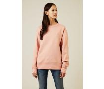 Sweatshirt 'Fairview Face' Pale Pink - 100% Baumwolle